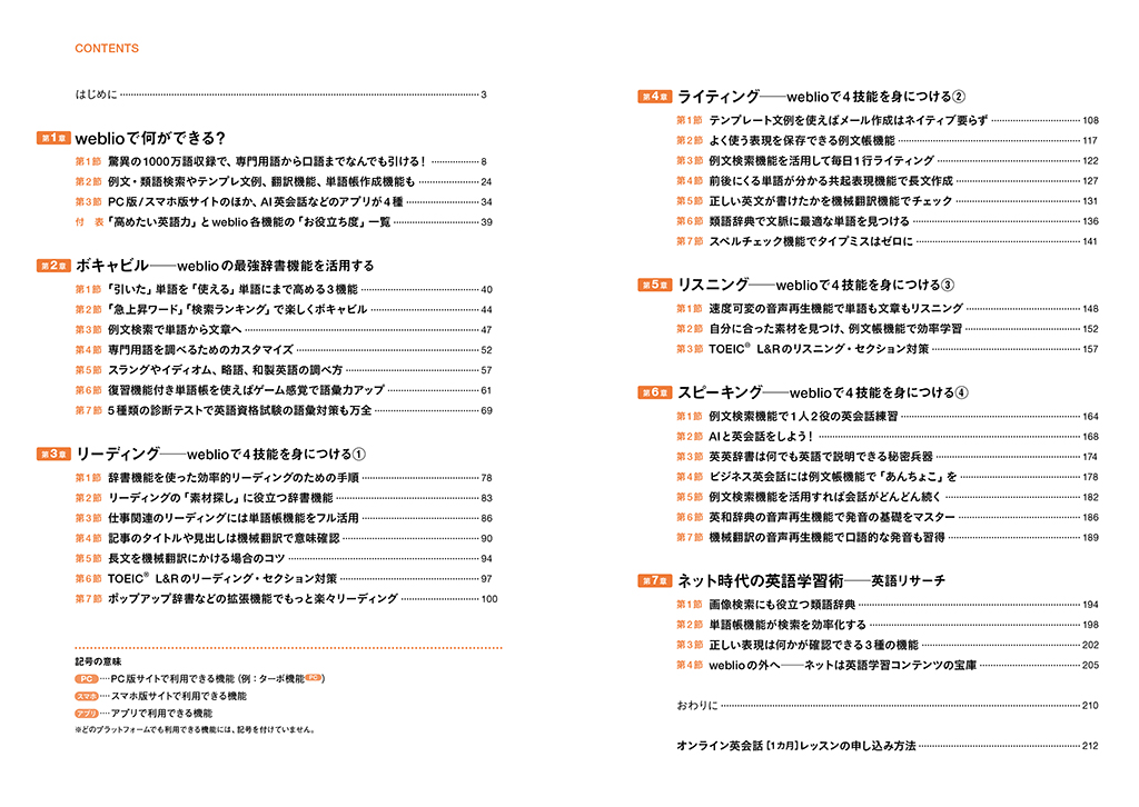 英語学習が変わる!<br>最強オンライン辞書weblioのひみつ